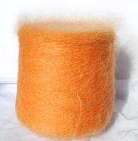 Кид мохер TL-Lineapiu. Пряжа Италии. Цвет оранжевый 61/1000