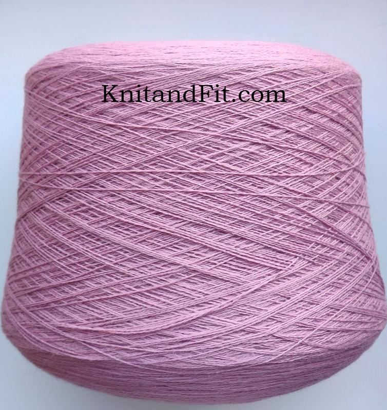 Пряжа ангора с мериносом цвет лиловый. 262/1300
