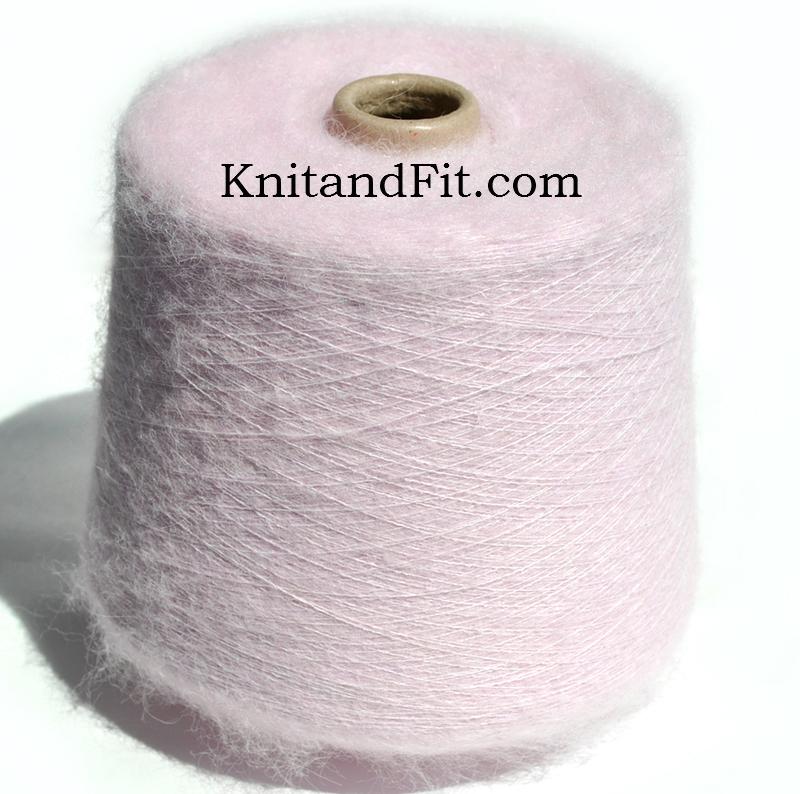 Пряжа мохер. Пряжа IGEA/Astro.Цвет розовый. 189/1000