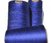 Пряжа шёлк. Цвет темно синий 78/3000